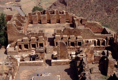 Le site de Takht i Bahi