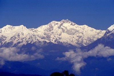 L'Himalaya vu de Darjeeling