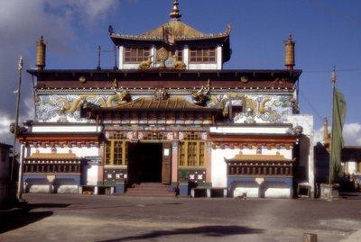 Le monastère de Ghum