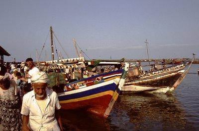 Les bateaux d'Hodeidah