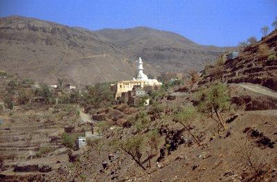 Mosquée vers Taiz