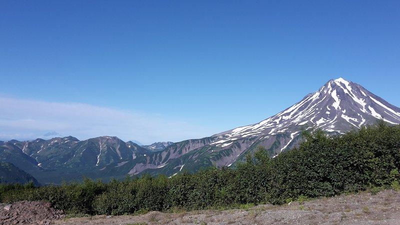 Le volcan Vilioutchik