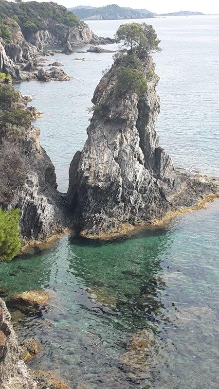 A l'ouest de la Presqu'île de Giens