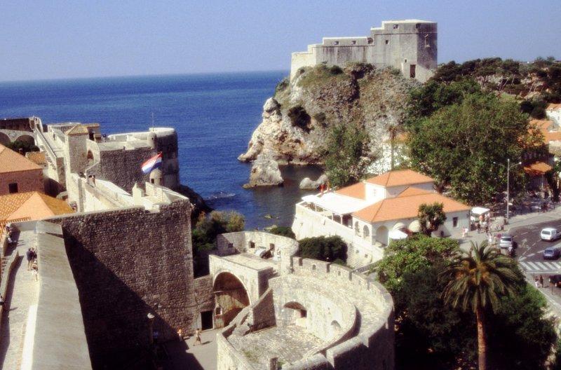 Sur les murs de la citadelle