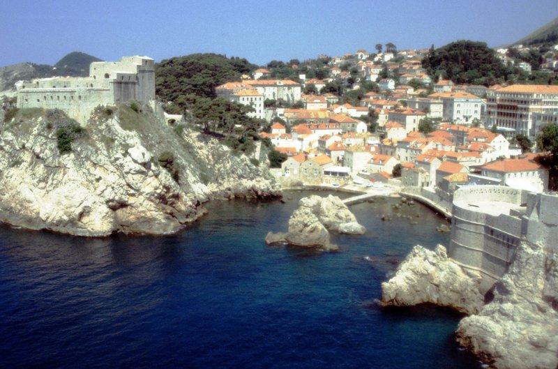 Le bastion de Dubrovnik