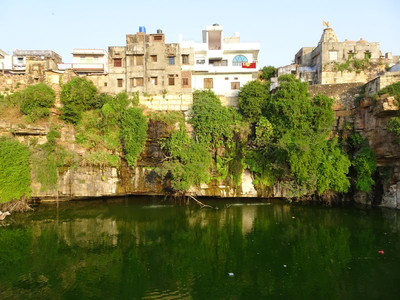 Le réservoir de la citadelle