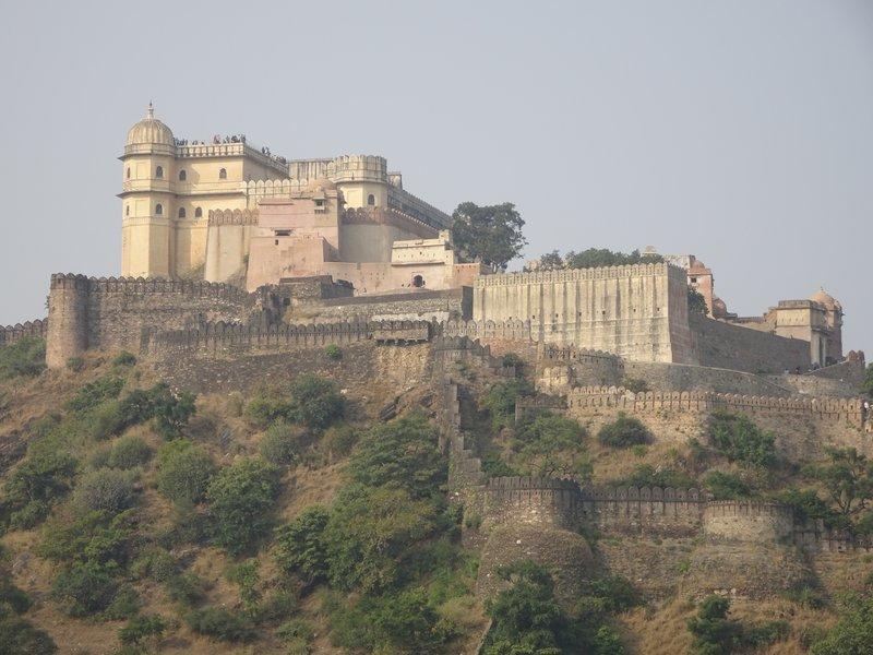 Le fort de Kumbhalgarh