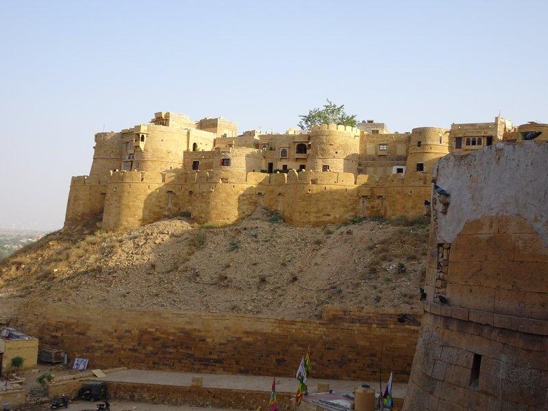 Les remparts de Jaisalmer