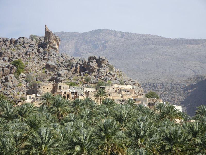 L'oasis de Misfat El Abryeen
