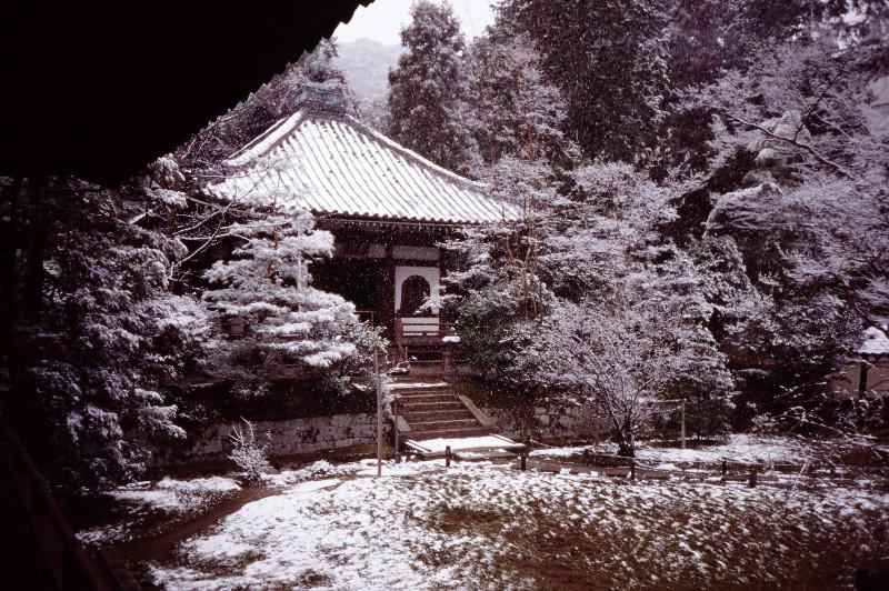 Temple enneigé