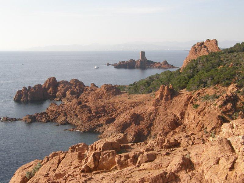 L'île d'Or vue du Dramont