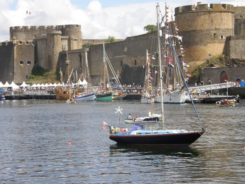 La Penfeld et le château de Brest