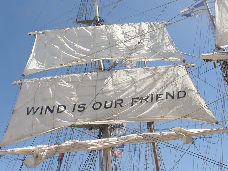 Wind is our friend