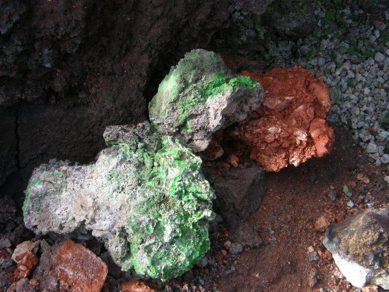 Minéraux de toutes les couleurs