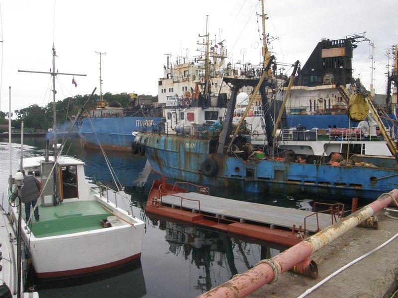 Le port de Petropavlosk