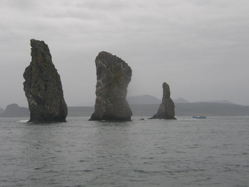 Dans la baie de Petropavlosk