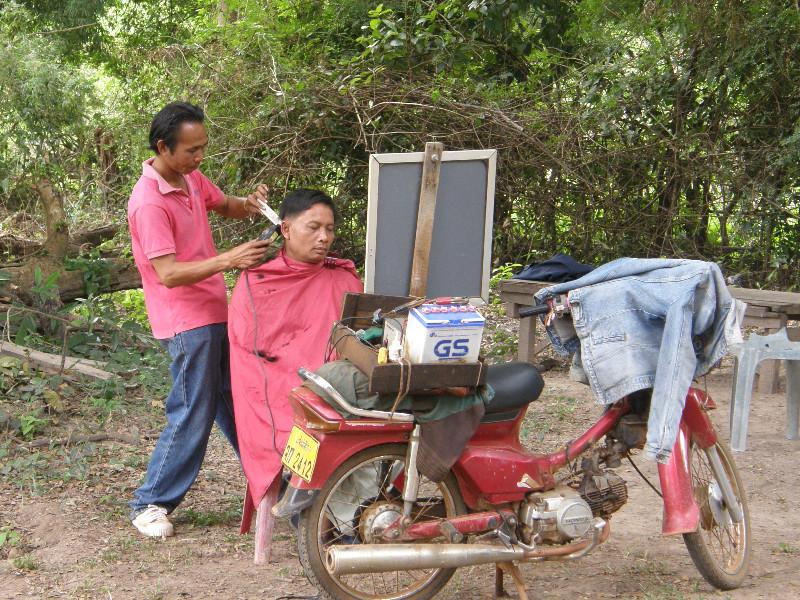 Salon de coiffure itinérant