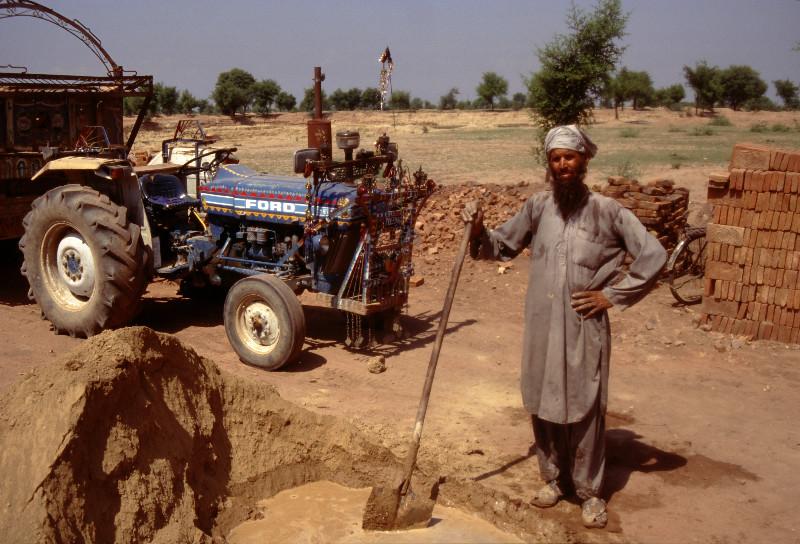 Briquéterie entre Peshawar et Dara