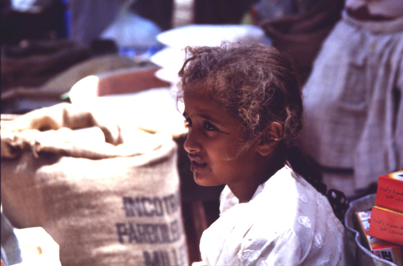 Fillette à Hodeidah