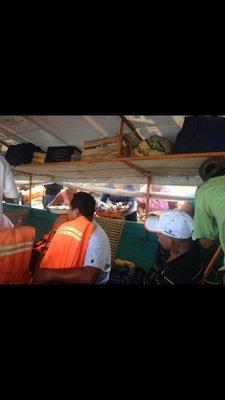 Fast boat food