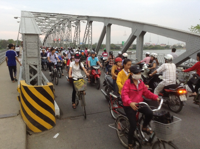 Bridge over Perfume River Hue