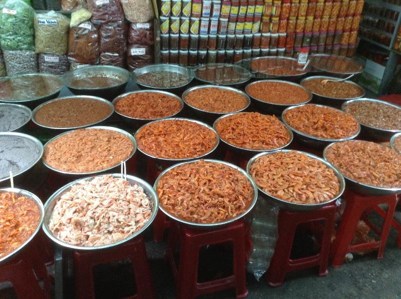 Shrimps and shrimp paste Hue