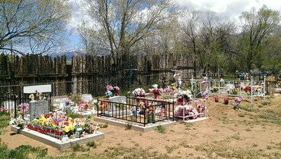 Hispanic grave yard