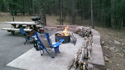 Fire pit preperation