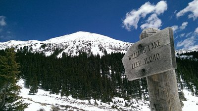 Taos Ski Area Hike