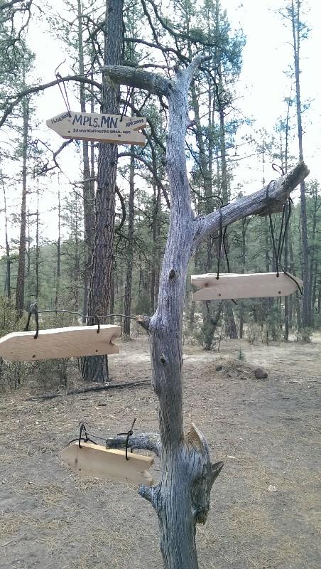 Camping Sculpture