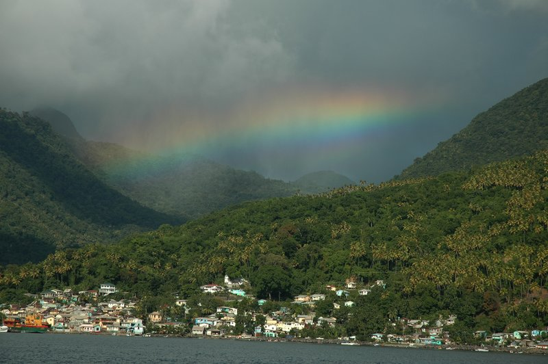 Rainbow Soufriere, St Lucia