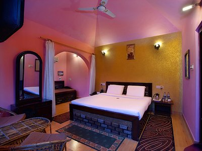Deluxe Rooms inside view of United-21 Wildlife Resort Corbett