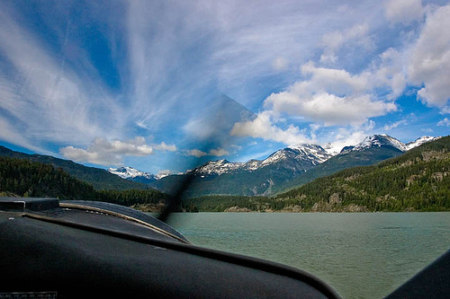 Sea Plane Take Off from Whistler