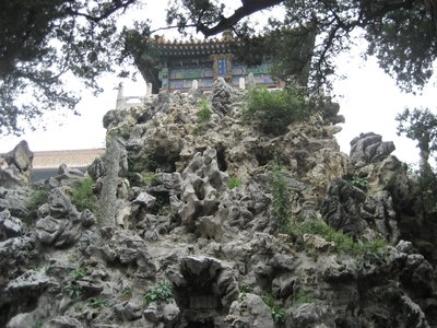 Rockery in garden of Forbidden City