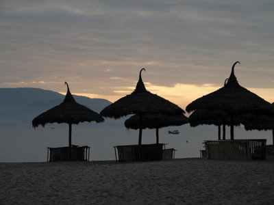 Sunrise on Nha Trang Beach