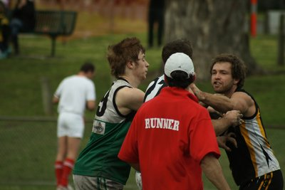 Aussie Rules fight!