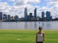 South Perth with city & Swan River in background