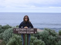 Cape Leuwin - where the oceans meet