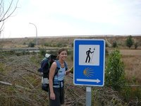 First sign Camino