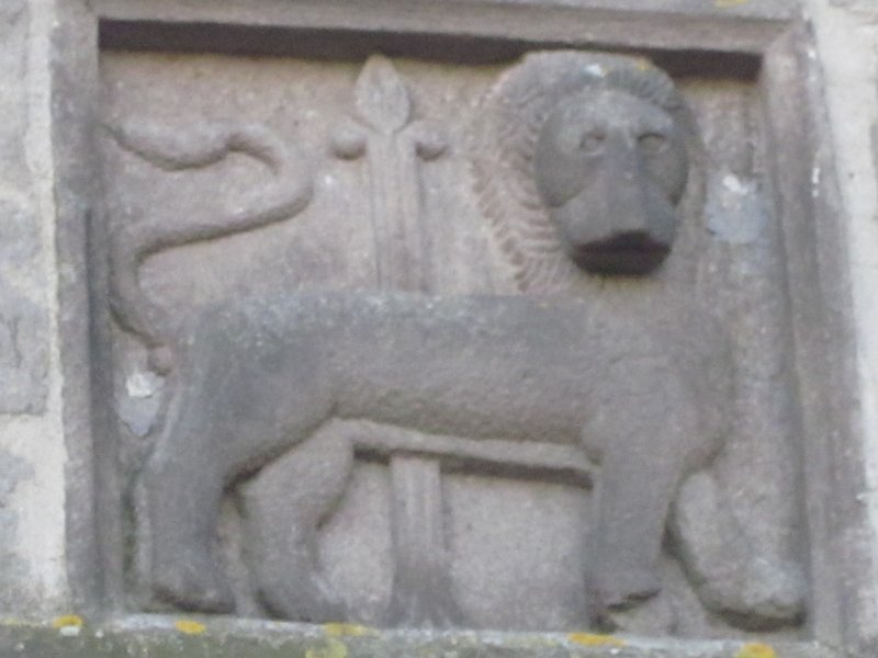 Viterbos vapen med lejon