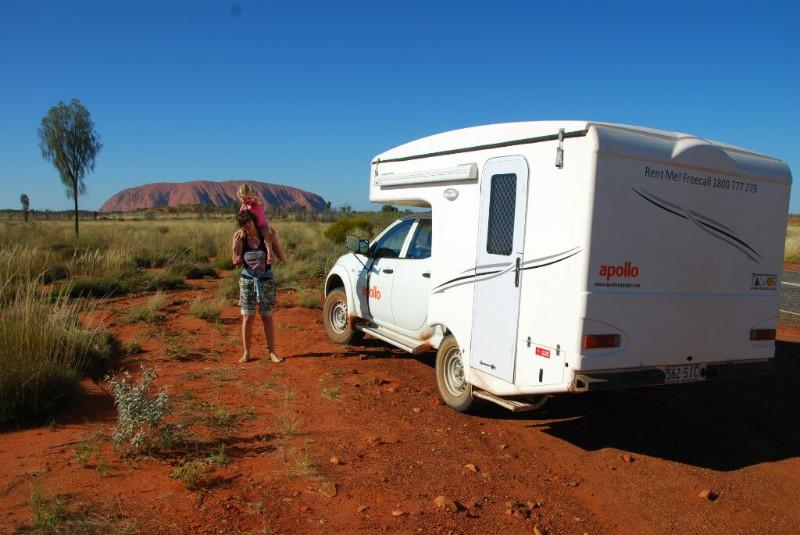 Es en Bo bij Uluru