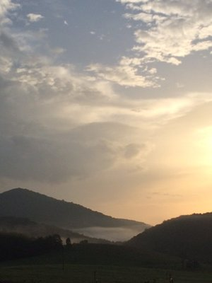 Catawba Valley sunrise