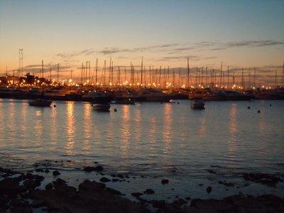 Marina in Punta del Este, Uruguay