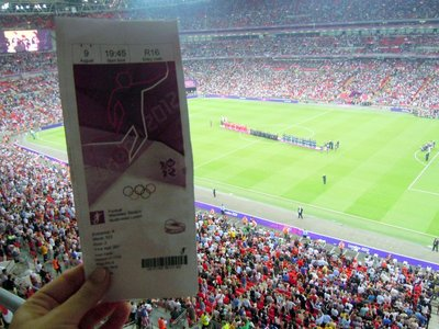 Olympic Womens Soccer Final, Wembley Stadium, London, UK