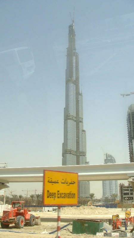 Burj Khalifa (Formerly Burj Dubai), Dubai, UAE