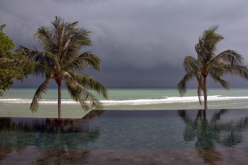 Storm in Ko Samui, Thailand