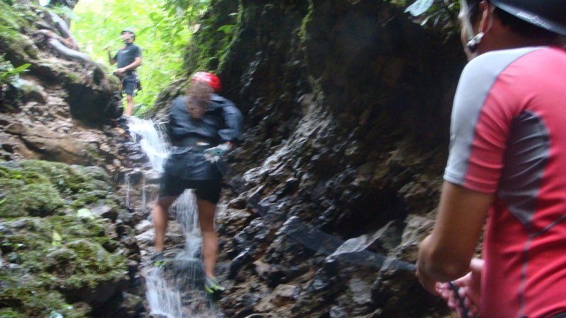 Waterfall Repelling, La Fortuna, Costa Rica