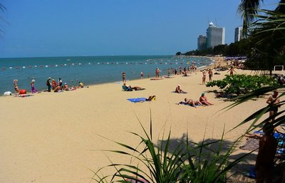 Pattaya_Wong Amat Beach View, Thailand
