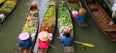Floating Market Thailand | Major Attractions in Thailand