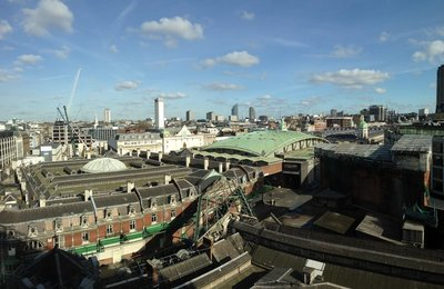 View from Amazon UK Office